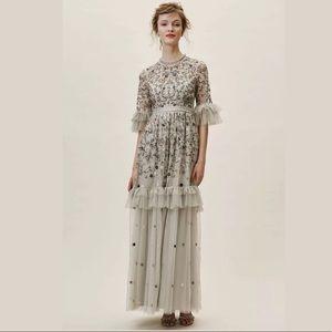 🆕BHLDN 4 NEEDLE & THREAD EMBROIDERED JAMILA DRESS
